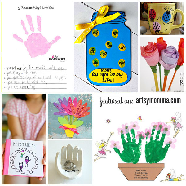 Pretty Mothers Day Crafts For Kids To Make Artsy Momma