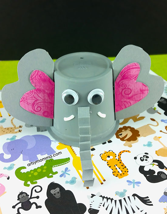 Easy To Make K Cup Elephant Craft Artsy Momma