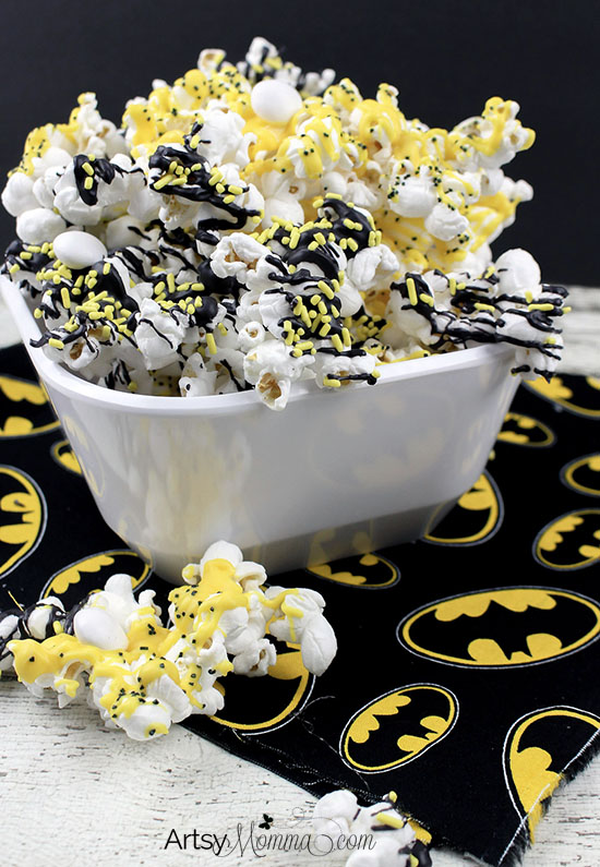 The Lego Batman Movie Snack Popcorn Recipe
