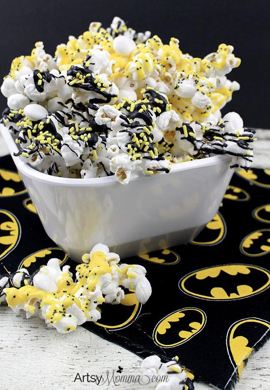The Lego Batman Movie Snack Popcorn Recipe