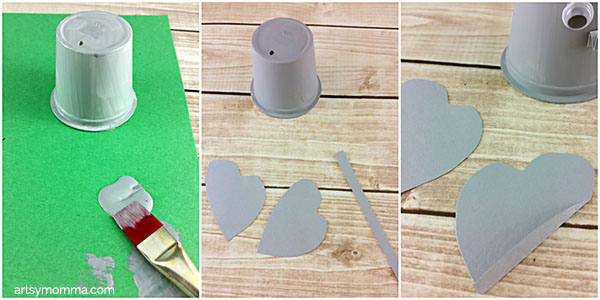 Recycled Cup Elephant Craft for Kids