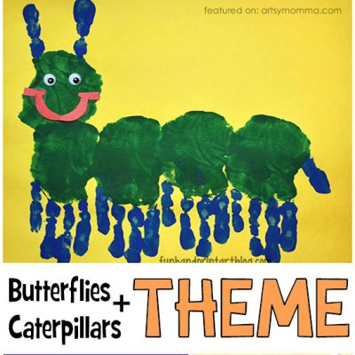 Books About Butterflies and Caterpillars + Activities