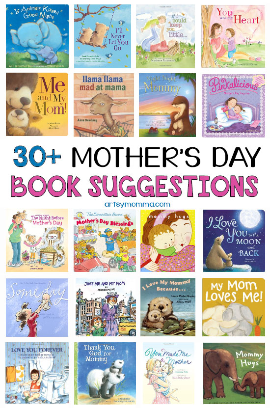 Sweet Books to Read with Kids This Mother's Day