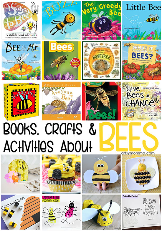 Activities, Crafts, and Books About Bees
