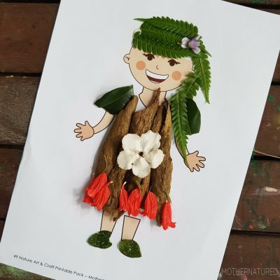 Getting Crafty with Nature Art! Printable Activities