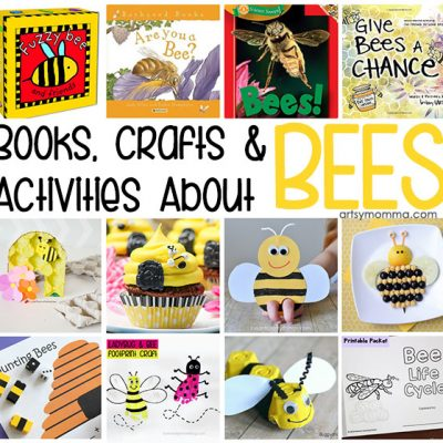 Activities, Crafts and Books About Bees