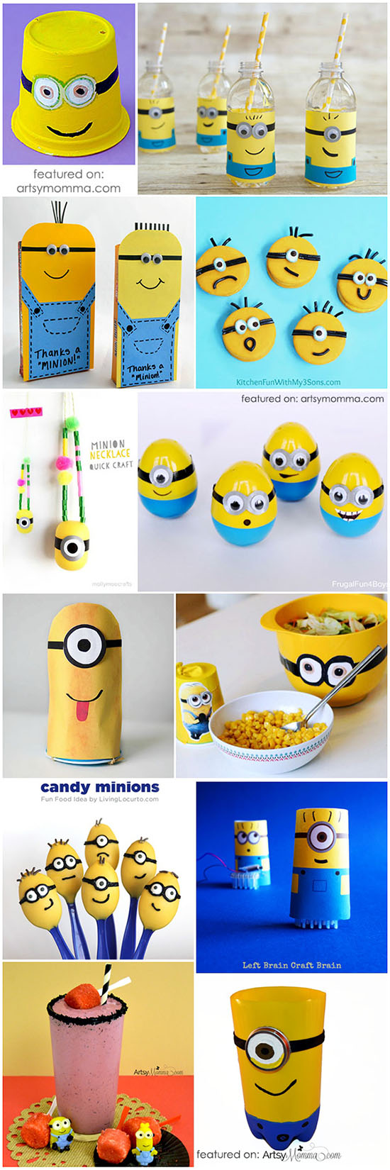 Ultimate Guide to Minions & Despicable Me Party Ideas, Crafts, Food, & Activities