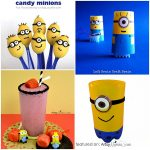 Minion Mania: crafts & party ideas inpired by the Despicable Me Movies