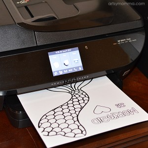 Hp Envy 7640 All-In-One Printed Craft