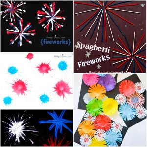 Fourth of July Fireworks Craft ideas for Kids