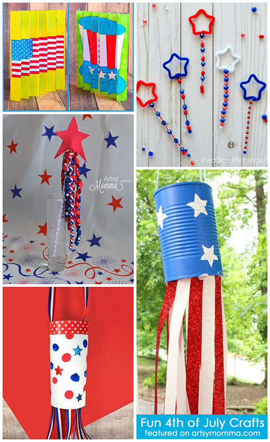 Fun 4th of July Kids Crafts
