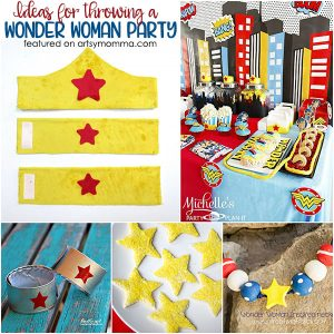 Ideas for Throwing a Wonder Woman Party with Kids