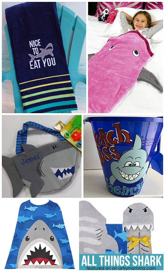 Cool Shark Toys, Blankets, Towels, Crochet, & More for Kids & Babies