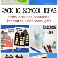 Back to School Resources: Crafts, Printables, Lunch Ideas & More!