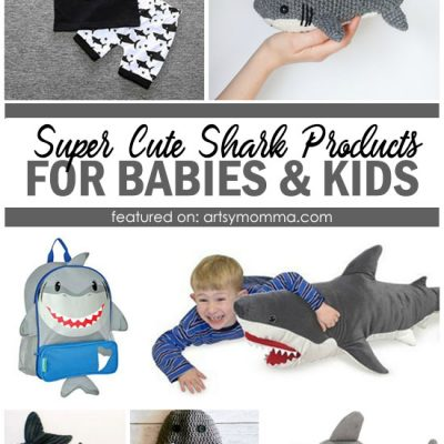 Super Cool Shark Stuff: Toys, Towels, Clothes, Crochet and More!