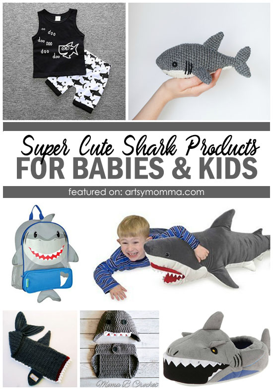 Super Cute Products for Kids Who Love Sharks (and babies too!)