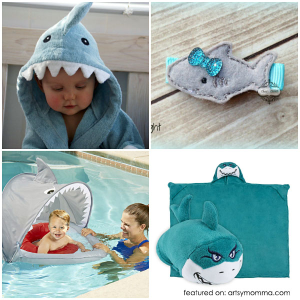 Adorable Shark Products for Kids and Babies