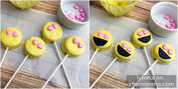 DIY Emoji Oreo Pops Tutorial - Party Idea