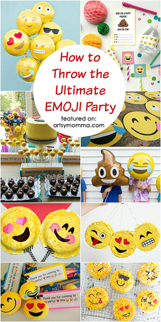 How To Throw The Ultimate Emoji Party Or Movie Night With Kids