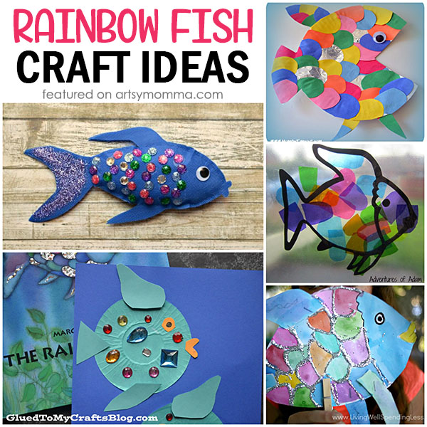 Kids Book Extension to go along with The Rainbow Fish Books