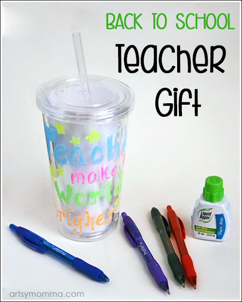 Teacher Gift Idea: DIY School Supply Cup
