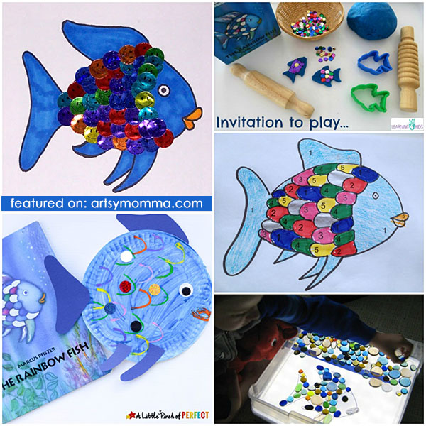 Rainbow Fish Book Extension: Crafts & Learning Activities