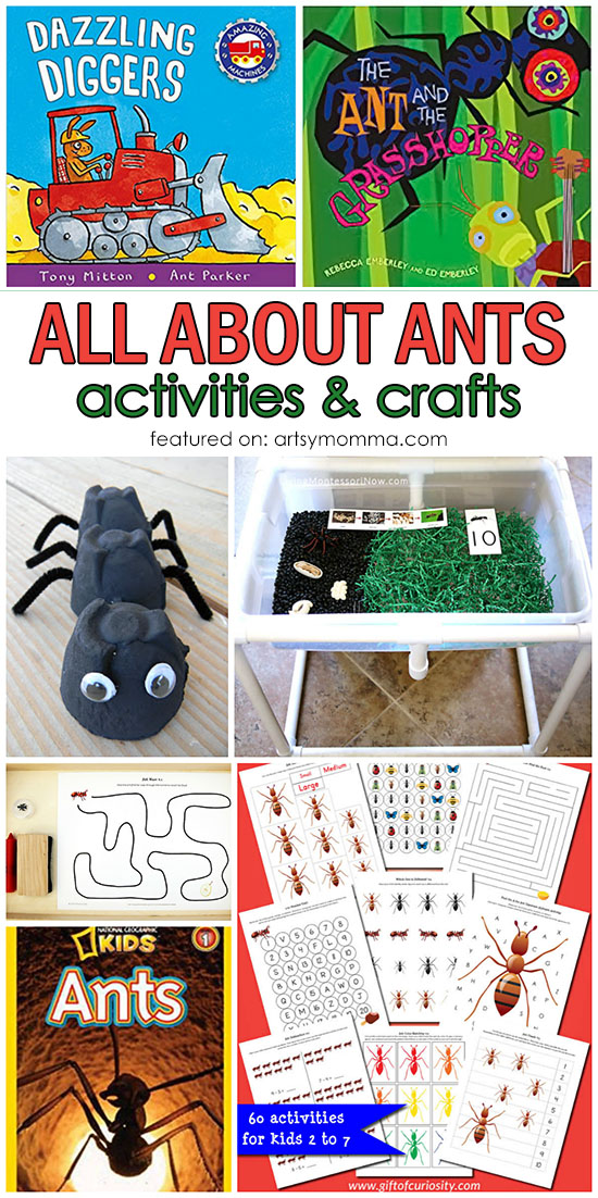 All About Ants: Themed Crafts, Activities and Books