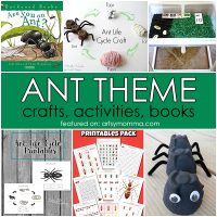 Ant Theme: Books, Activities, and Crafts