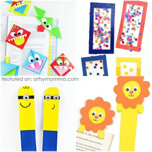 15 Creative & Fun Bookmark Crafts for Kids