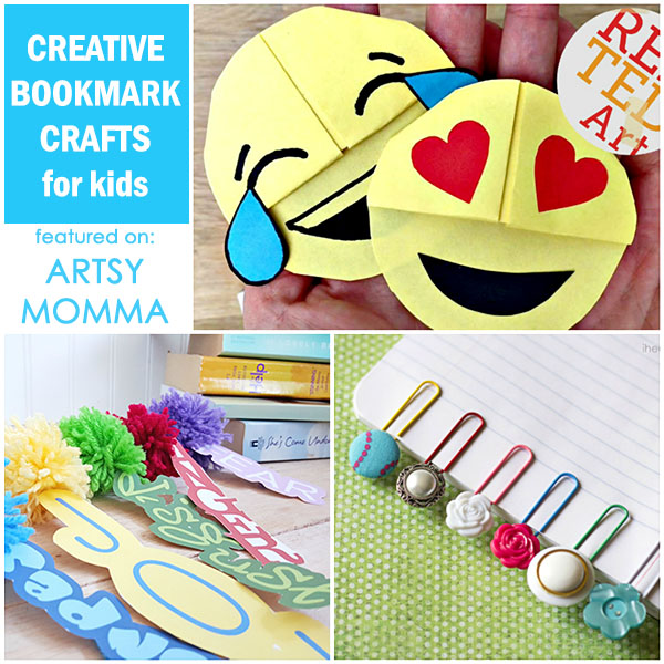 Do It Yourself Bookmarks for All Ages