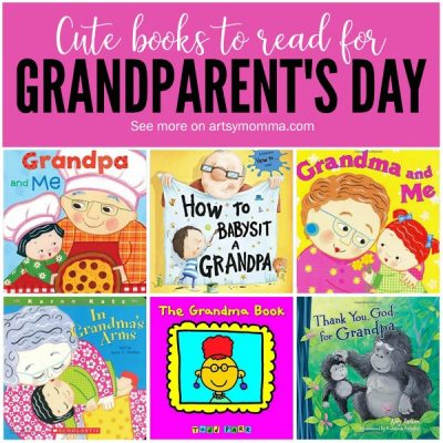 22 Cute Books for Grandparent's Day