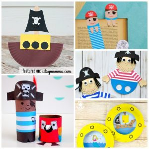 Super Cool Crafts & Activities for a Pirate Theme