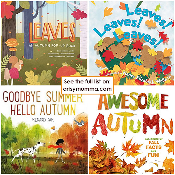 Fun Fall Picture Books For Kids + Autmn Board Books