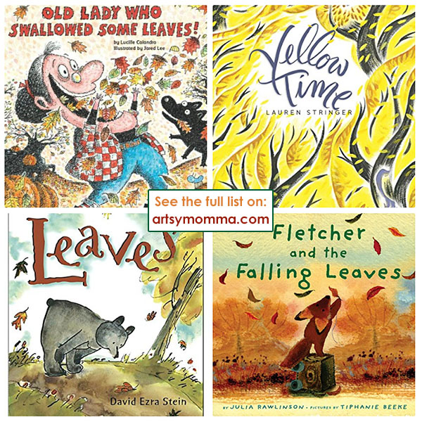 Fun Books About Fall & Leaves