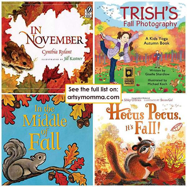 Kids Fall Picture Books & Board Books