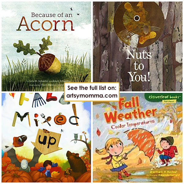 Autumn Themed Children's Books