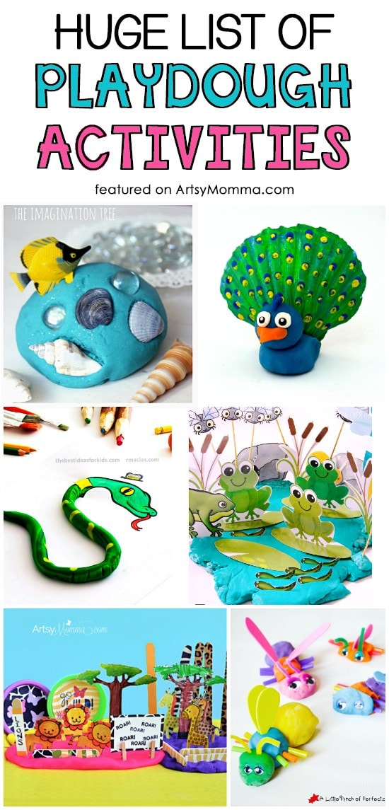 Playdough Animals and More Fun Ideas!