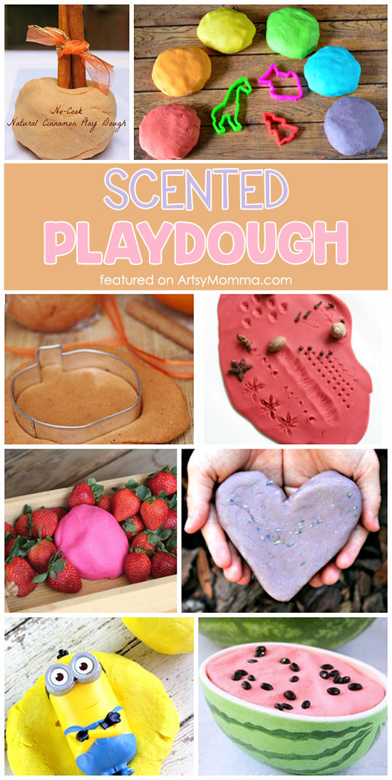 Scented Playdough Recipes to Make with Kids