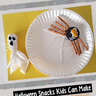 Crafty Halloween Snacks: Oreo Spider and Tootsie Pop Ghost