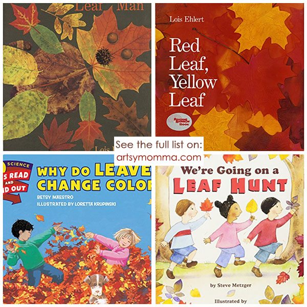 Childrens Books About Autumn Leaves & the Fall Season