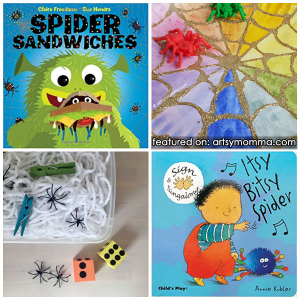 All About Spiders Theme for Kids