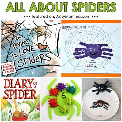 Spider Theme: Books, Activities, Crafts, and Snack Ideas