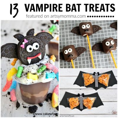 13 Super Cute Vampire Bat Treats