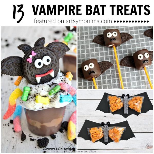 13 Super Cute Vampire Bat Treats