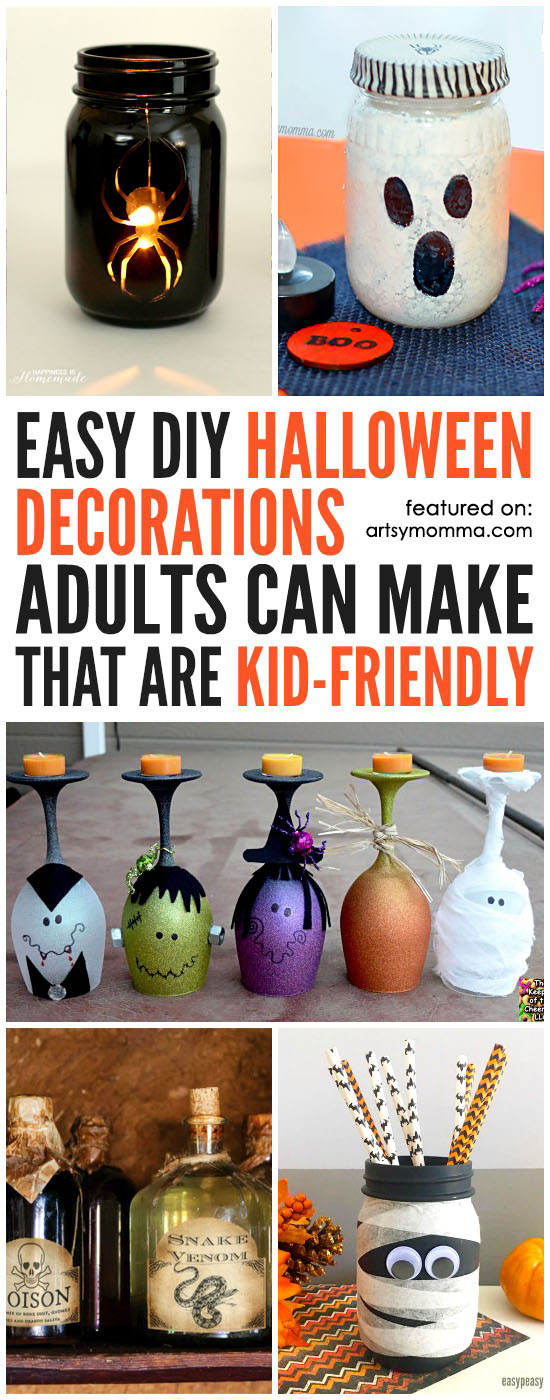 DIY Halloween Decorations Adults Can Make That Are Kid-friendly