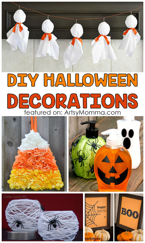 Easy-to-make Halloween Decor for Adults & Teens