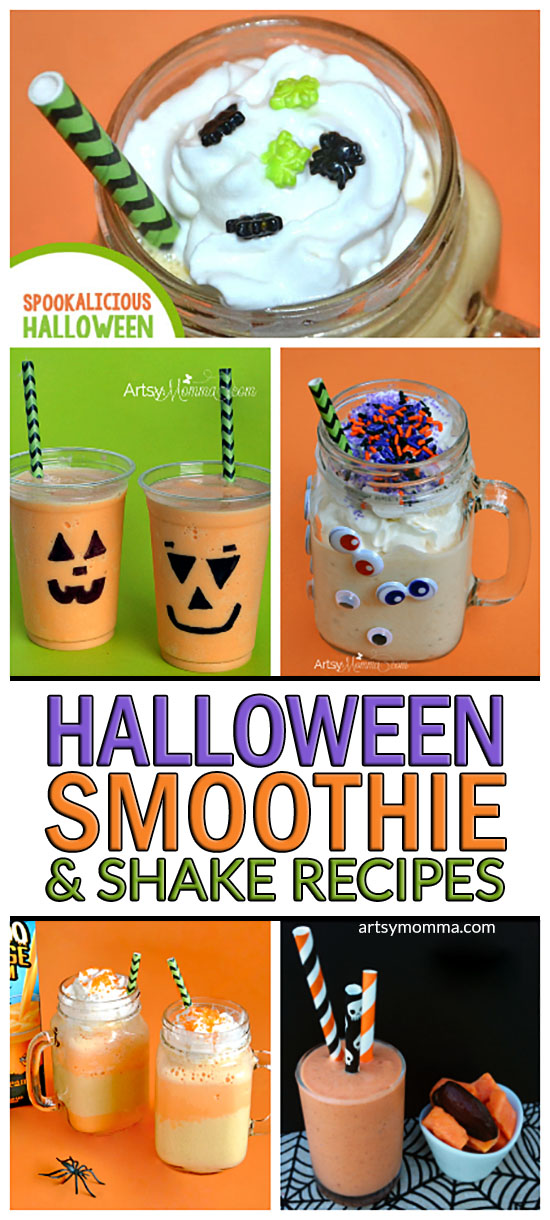 Frightfully Fun Halloween Smoothie and Shake Recipe Tutorials: Kid-friendly Halloween Ideas