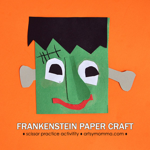 In this post, you will see a list of super fun and very simple Preschool Frankenstein crafts for Halloween! Don't they look like fun?