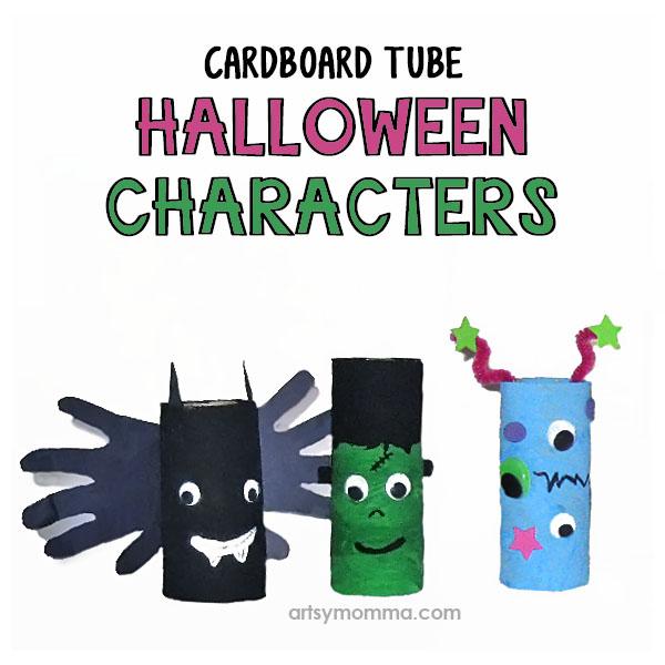 9 Toilet Paper Tube Halloween Characters