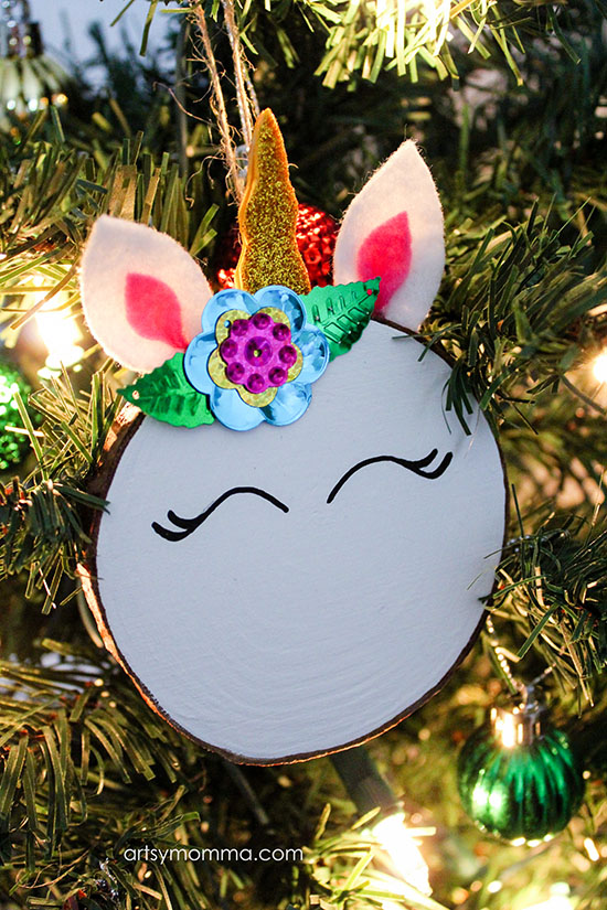 Darling DIY Unicorn Ornaments